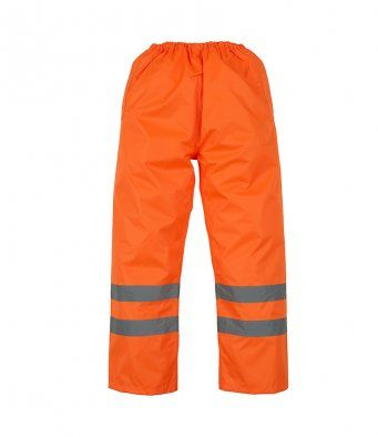 Essentials Waterpoof Hi Vis Trousers