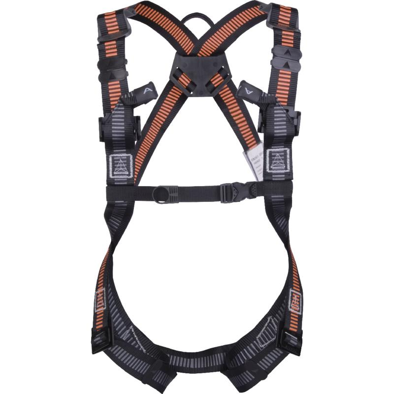 FALL ARRESTER HARNESS - 2 ANCHORAGE POINTS (BACK/FRONT)