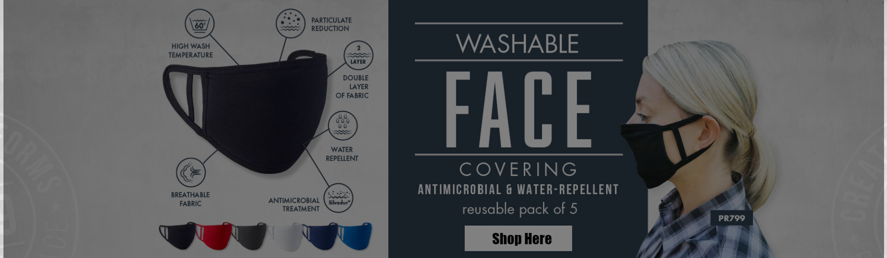 Washable Face Covering